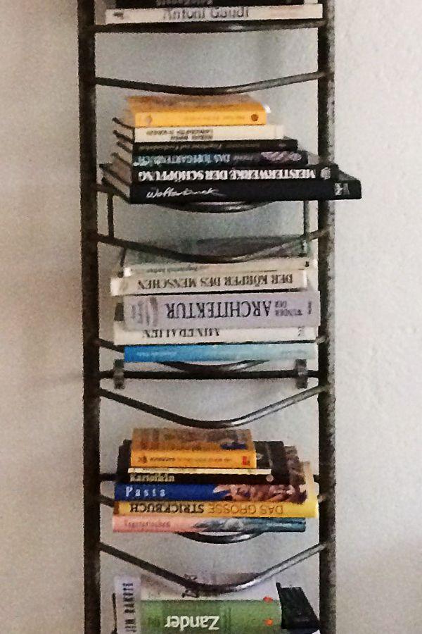 Fahrradständer Bücherregal