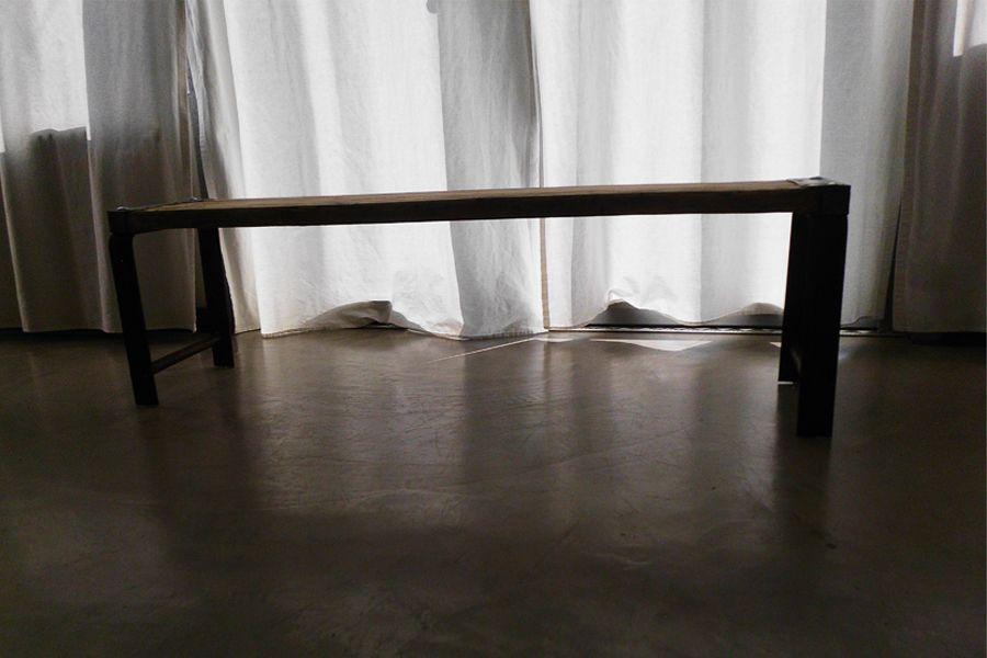 Möbelbau Baubohlenbank